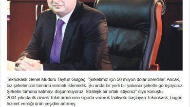 Photo of Cepkask Genel Müdürü Tayfun Gülgeç Barclays'ın Teklifini Red Etti